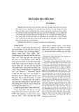 Khái niệm địa chiến lược - Trần Khánh
