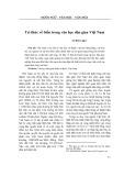 Tri thức về biển trong văn học dân gian Việt Nam - Lê Đức Luận