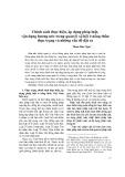 Chính sách thực hiện, áp dụng pháp luật, vận dụng hương ước trong quản lý xã hội ở nông thôn: thực trạng và những vấn đề đặt ra - Phạm Hữu Nghị