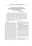 Xây dựng nhà nước pháp quyền để huy động các nguồn lực cho phát triển ở Việt Nam hiện nay - Hoàng Văn Luân