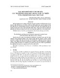 Đặc điểm phân bố và di chuyển các thành phần hóa học trong nước tự nhiên vùng Chợ Đồn Bắc Kạn, Việt Nam - Nguyễn Văn Luyện và tgk