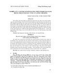 Nghiên cứu và đánh giá hàm lượng một số kim loại nặng trong trầm tích đáy vùng cửa sông Mê Kông - Phùng Thái Dương, Huỳnh Thị Kiều Trâm