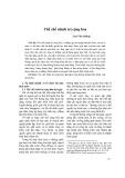 Thể chế chính trị cộng hòa - Lưu Văn Quảng