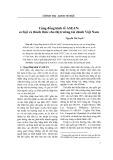 Cộng đồng kinh tế ASEAN: cơ hội và thách thức cho thị trường tài chính Việt Nam - Nguyễn Thị Tuyết