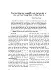 Văn hóa Đông Sơn trong bối cảnh văn hóa tiền sử khu vực Nam Trung Quốc và Đông Nam Á - Trình Năng Chung