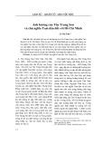 Ảnh hưởng của Tôn Trung Sơn và chủ nghĩa Tam dân đối với Hồ Chí Minh - Lê Thị Tình