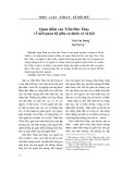 Quan điểm của Trần Đức Thảo về mối quan hệ giữa cá nhân và xã hội - Ngô Thị Nụ