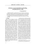 Kế thừa các giá trị tinh thần truyền thống trong hiện đại hóa xã hội - Võ Nguyễn Hoài Như
