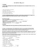 Đề thi thử học sinh giỏi tiếng Anh lớp 7