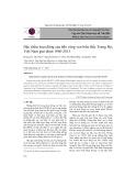 Đặc điểm hoạt động của bão vùng ven biển Bắc Trung Bộ Việt Nam giai đoạn 1960 - 2013