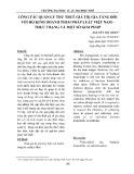 Công tác quản lý thu thuế giá trị gia tăng đối với hộ kinh doanh theo pháp luật Việt Nam - thực trạng và một số giải pháp
