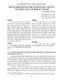 Trách nhiệm hình sự đối với pháp nhân thương mại trong Bộ luật hình sự năm 2015