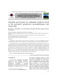Algorithm and program for earthquake prediction based on the geological, geophysical, geomorphological and seismic data