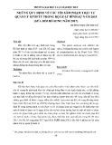 Những quy định về các tội xâm phạm trật tự quản lý kinh tế trong Bộ luật hình sự năm 2015 (sửa đổi bổ sung năm 2017)