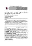 Tuổi đồng vị U-Pb của zircon trong các thành tạo xâm nhập khối Bến Giằng - Quảng Nam