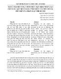 Mang thai hộ vì mục đích nhân đạo theo pháp luật Việt Nam   quy định mang tính nhân văn thể hiện sự phù hợp của pháp luật thế kỷ XXI