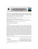 Assessment of geomorphic processes and active tectonics in Con Voi mountain range area (Northern Vietnam) using the hypsometric curve analysis method