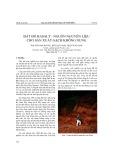 Đất đỏ basalt - nguồn nguyên liệu cho sản xuất gạch không nung