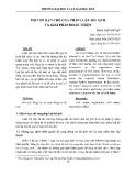 Một số hạn chế của pháp luật hộ tịch và giải pháp hoàn thiện