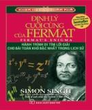 Định lý cuối cùng của fermat: phần 1
