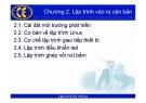 Bài giảng Lập trình hệ nhúng: Chương 2 - Phạm Văn Thuận