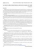 Giá trị của điện tâm đồ trong chẩn đoán thuyên tắc phổi