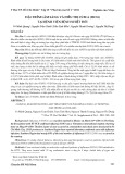 Đặc điểm lâm sàng và điều trị cúm A (H1N1) tại Bệnh viện Bệnh Nhiệt Đới