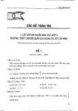 Bộ đề thi tuyển sinh môn Toán 6 - Trường THPT Trần Đại Nghĩa. Tp Hồ Chí Minh