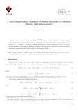 A class of generalized Shannon-McMillan theorems for arbitrary discrete information source