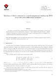Existence of three solutions to a non-homogeneous multi-point BVP of second order differential equations