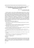 Đặc điểm hình thái và hàm lượng polyphenol, saponin và alkaloid tổng số của củ cây sâm đá thu thập tại huyện Kbang, Gia Lai