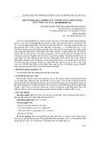 Một số kết quả nghiên cứu về khả năng nhân giống hữu tính cây Nưa (Amorphophallus sp.)