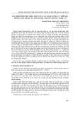 Đặc điểm phân bố theo nơi ở của các loài lưỡng cư trên hệ thống suối thuộc xã Thanh Mai, Thanh Chương, Nghệ An