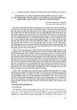 Ảnh hưởng của phân ure đến thành phần loài ve giáp (Acari: oribatida) ở đất trồng cây hành lá tại vườn sinh học khoa sinh – KTNN thuộc Vĩnh Yên, tỉnh Vĩnh Phúc
