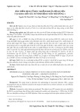Đặc điểm dịch tễ học nhiễm khuẩn bệnh viện tại khoa hồi sức sơ sinh Bệnh viện Nhi Đồng 1