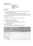 Đề thi học kì 2 môn Vật lí 6 năm 2017-2018 có đáp án - Trường THCS Sơn Định - Đề số 1