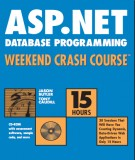 Ebook ASP.Net - Database programming weekend crash course: Part 1