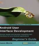 Ebook Android user interface development: Part 2
