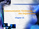 Lecture Business and industrial communication - Chapter 13: Communication technology in the organization