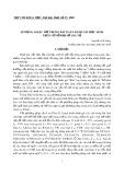 Áp dụng logic mờ trong bài toán đánh giá học sinh trên cơ sở đại số gia tử