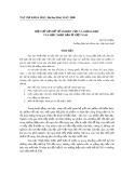 Một số vấn đề về nghiên cứu và giảng dạy văn học Nhật Bản ở Việt Nam