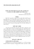 Nghiên cứu sự tạo phức của Er(III) với 1-(2-Pyridilazo) -2-Naphtol (PAN) bằng phương pháp trắc quang