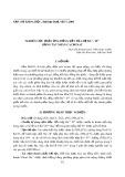 Nghiên cứu phản ứng đồng kết tủa hệ Ba2+- Ti4+  bằng tác nhân cacbonat