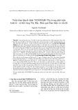 Triển khai Quyết định 79/2005/QĐ-TTg trong phát triển kinh tế - xã hội vùng Tây Bắc: Hiệu quả thực hiện và vấn đề - Nguyễn Văn Khánh