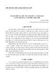 Thành phần hoá học của tinh dầu cây mạn kinh (vitex trifolia l.f.) ở Thừa Thiên Huế