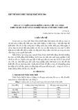 Mưa lũ và những định hướng trong việc xác định  thời vụ sản xuất nông nghiệp tránh lũ ở Thừa Thiên Huế
