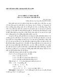 Dung lượng và dạng đại số của các ánh xạ đa trị giải tích