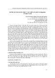 Đánh giá đa dạng thực vật lớp loa kèn (liliopsida) ở Việt Nam