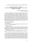 Đặc điểm giải phẫu và sinh lý loài trẩu (vernicia montana lour.) tại khu vực Núi Luốt, Đại học Lâm Nghiệp