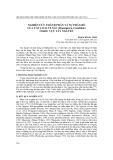 Nghiên cứu thành phần và sự phân bố của các loài ve sầu (Homoptera, Cicadidae) ở khu vực Tây Nguyên